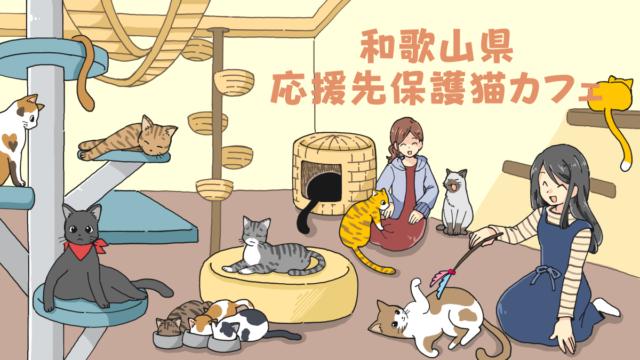和歌山県の応援先保護猫カフェ・保護犬カフェ