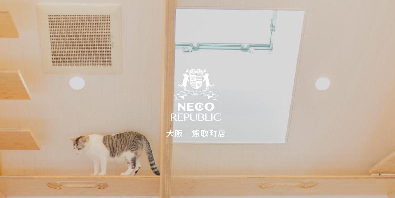 保護猫カフェ&ドッグカフェ&ペットグッズ ネコリパブリック大阪熊取町店